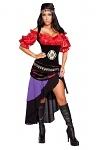 Sexy Zigeuner Kostüm Deluxe