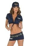 Sheriff Shirt & Skirt - Polizei Kostüm