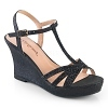 Strass Keilabsatz Sandalette Silvie-20