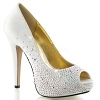 Strass Peeptoe Pumps Lolita-06