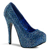 Strass Plateau Pumps Teeze-06R navy