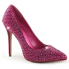Strass Pumps Amuse-20RS pink