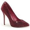 Strass Pumps Amuse-20RS rot