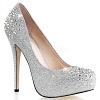 Strass Pumps Destiny-06R silber
