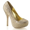 Strass Pumps Felicity-20 champagner