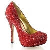 Strass Pumps Felicity-20 rot
