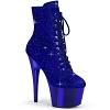 Strass Stiefelette Adore-1020CHRS Royal blau