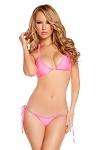 String Bikini hot pink