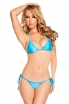 String Bikini türkis