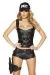 Swat Babe Polizei Kostüm