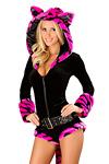Tiger Overall pink Kostüm - Premium Qualität