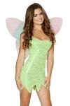Tinkerbell Kost�m Kleid