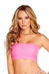 Tube Top hot pink