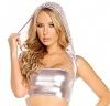 Tube Top silber
