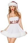 Weihnachtskleid Candy Cane