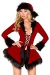 Weihnachtskostüm - Black Chic Santa