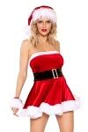 Weihnachtskostüm Kleid Santas Cutie