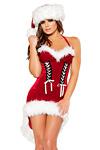 Weihnachtskostüm - Santas Schneeflöckchen