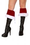 Weihnachtskostüm Stiefelstulpen