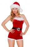 Weihnachtsmann Kostüm Neckholder Overall