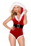Weihnachtsmann Kostüm Overall Xmas Lady