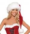 Weihnachtsmann Mütze Santa Claus rot