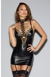 Wetlook Minikleid Rendevous