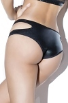 Wetlook Panty Cut Out ouvert