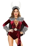 Wikinger Kostüm - Wikinger Prinzessin