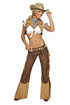 Wild West Cowgirl Kostüm