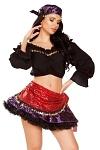 Zigeuner Kostüm Gypsy Lady bauchfrei