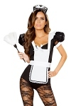 Zimmermädchen Kostüm Catsuit