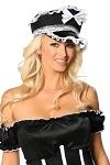 Zimmermädchen Kostüm Hut