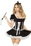 Zimmermädchen Kostüm Valery